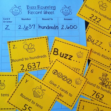 rounding buzz game square