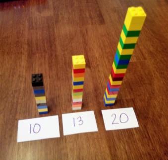 rounding legos