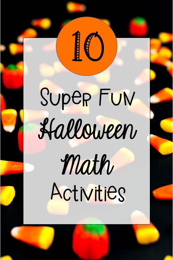10 halloween math activities