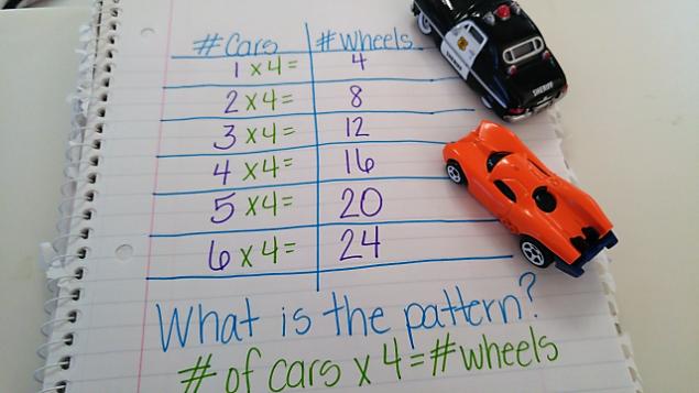 pattern cars x 4