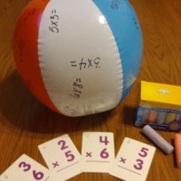 beach ball math break