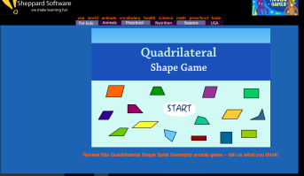quadrilateral game