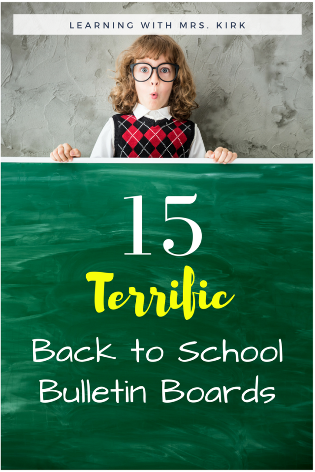 7 fun back to school math activities!