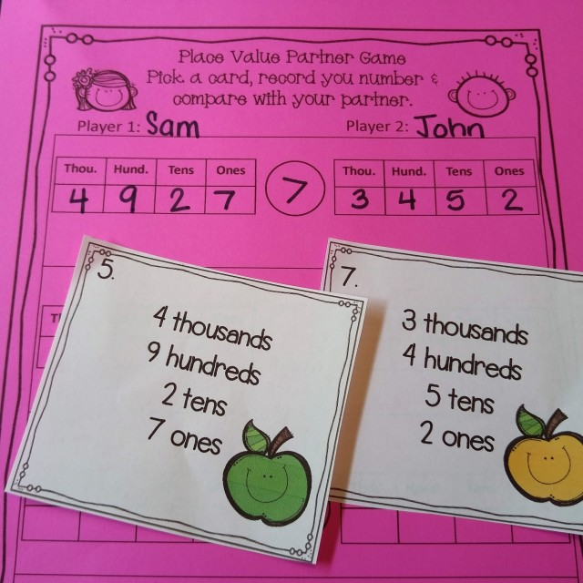 more place value games