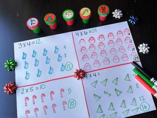 holiday stamps arrays cropped